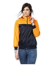 Yepme Klara Full Sleeves Jacket - Blue & Orange -- YPMJACKT5157_L