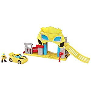 Bumblebee's Rescue Garage Transformers Rescue Bots Playset