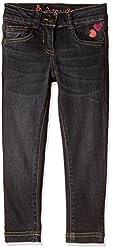 UFO Girls' Jeans (AW-16-DF-GKT-392_Grey_14 - 15 years)