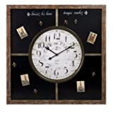 IMAX Paris Chalkboard Clock with Magnets