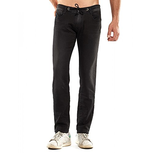 Japan Rags -  Jeans  - Uomo nero 36W x 32L