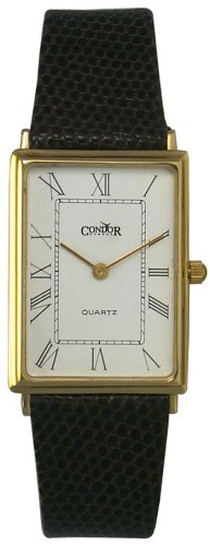 Condor 14K Solid Gold Men's Strap Watch - GS127-20 - Buy Condor 14K Solid Gold Men's Strap Watch - GS127-20 - Purchase Condor 14K Solid Gold Men's Strap Watch - GS127-20 (Condor, Jewelry, Categories, Watches, Men's Watches, By Movement, Swiss Quartz)
