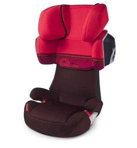Cybex 513115007 Solution X2 Autositz, Poppy-red