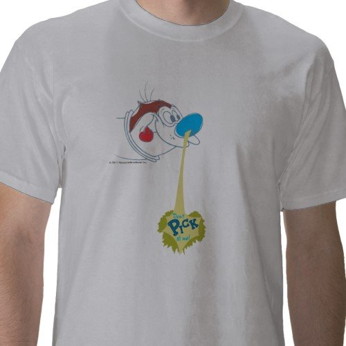 Ren &amp; Stimpy: Don't Pick At Me Tee - Mens