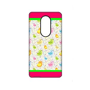 Vibhar printed case back cover for Lenovo Vibe P1 MusicalBirds