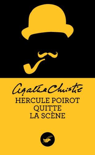 Agatha Christie - Hercule Poirot quitte la scène (Masque Christie)