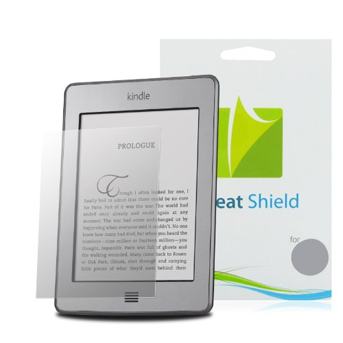 GreatShield Ultra Anti-Glare (Matte) Clear Screen Protector Film for Amazon Kindle Latest 2011, Kindle Touch, Kindle Keyboard, Kindle 2nd Generation (3 Pack)