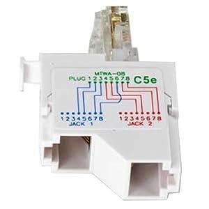 rj45 splitter wiring diagram hdmi splitter wiring diagram amazon.com: sf cable 10/100 baset 1p/2j type 8 wiring rj45 ...