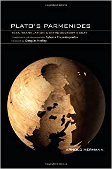 Plato's Parmenides: Text, Translation & Introductory Essay Hardcover ...