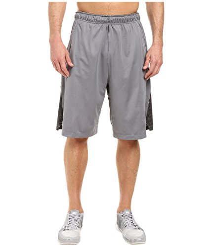 New Nike Men's Hyperspeed Knit Shorts Tumbled Cool Grey/Anthracite/Black X-Large
