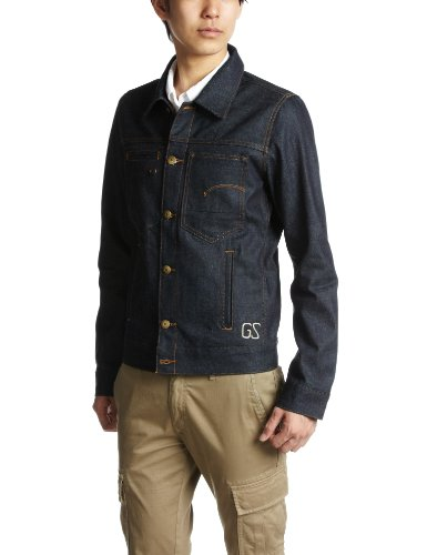 G Star Izu Tailor Men's Coat Raw Rigid Large