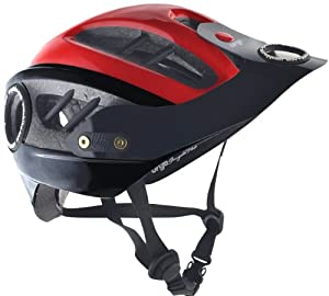 Urge All Mountain Lid - Black/Red, S/M