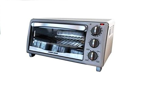 B&D To1313Swd White Toaster Oven 4 Slice / 9 Pizza Cooking