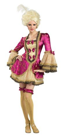 Womens Small (Size 6-9) Sexy Marie Antoinette Costume (See details for mftr. Changes)