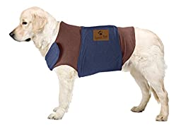 Emmy\'s Best Premium Pet Products Two Tone Soft Fabric Jacket for Dogs, Medium