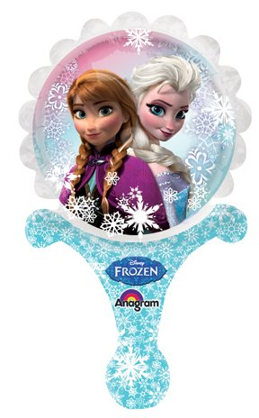 DISNEY FROZEN Inflatable Inflate-a-Fun Balloon Birthday party favor SET OF 5