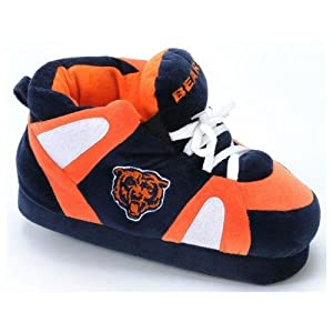 Chicago Bears UNISEX High-Top Slippers by Comfy Feet
