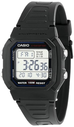 "Casio Men's W800H-1AV ""Classic"" Sport Watch with Black Band image"