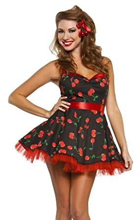 59578ad226a4 Women cherry pop pinup girl costume jpg 278x445 Pin up outfits