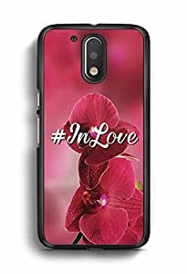 YuBingo In Love Designer Mobile Case Back Cover for Motorola G4 Plus