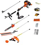 52CC MULTI FUNCTION 5-IN-1 GARDEN TOOL - STRIMMER, BRUSH CUTTER,