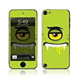 TaylorHe Vinyl Skins for iPod Touch 5 Ultra-slim Protection Perfect Fit Made in Britain Colourful Decal With Patterns green monster, cute