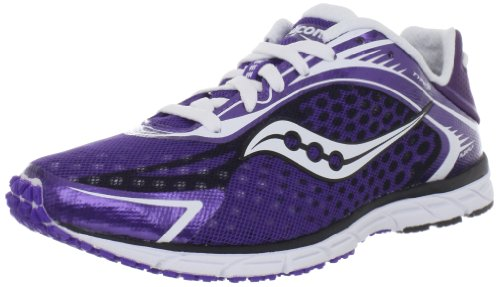 Saucony Women's Type A5 Running Shoe,Purple/White,5 M US