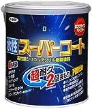 アサヒペン 水性スーパーコート オーシャンブルー 1.6L 【まとめ買い3セット】