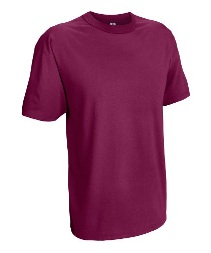 Russell Athletic Men's Basic T-Shirt, Maroon, XXX-Large