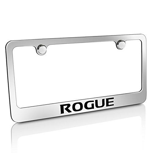 Nissan Rogue Chrome Metal License Plate Frame (Nissan Chrome License Plate compare prices)