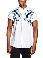 Versace Jeans Camisa Hombre (Blanco)