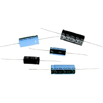 Axial Lead Electrolytic Capacitor (For Audio, Guitar Amplification, Antique Radios, Etc.) 25uF - 25V