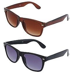 VAMA Wayfarer Sunglasses - COMBO OFFER (7556BRBBL)