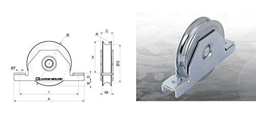 combiarialdo-425100-20-ruota-100mm-misura-19x24mm-portata-230kg-1cuscinetto-gola-tonda-binario-20mm-