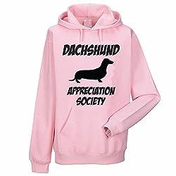 DACHSHUND APPRECIATION SOCIETY - Sausage Dog / Pet / Gift Idea Women's Hoody / Hoodies