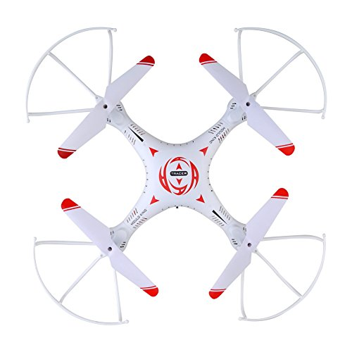 RC Drone, Kingtoys Headless Mode 360° Rolling Action 3D CF One Key Return 2.4G 4CH 6Axis RC Quadcopter RTF with LED Light for Night Flight (Camera Chopper Remote Control compare prices)