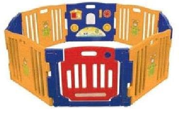ProSource Baby Kids Playpen 8 Panel Play Center Safety Yard Pen