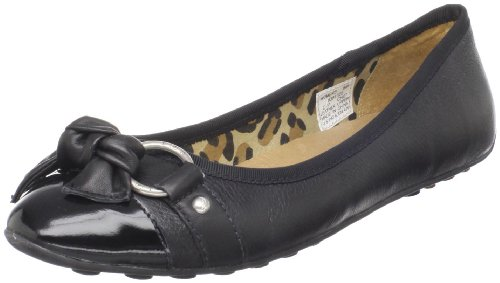 Sperry Top Sider Kendall Womens SZ 8 Black Black New Leather Ballet Flats Shoes