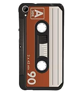 90 Minutes Cassette 3D Hard Polycarbonate Designer Back Case Cover for HTC Desire 828 :: HTC Desire 828Q :: HTC Desire 828S :: HTC Desire 828G+ :: HTC Desire 828 G Plus :: HTC Desire 828 Dual Sim