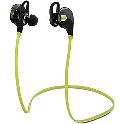 Mpow Swift Auricolari Wireless Bluetooth 4.0 Headset Stereo Cuffie Sportive a Prova di Sudore con Microfono e AptX Tecnologia Headphone per iPhone 6s plus/6s, iPhone 6/6 Plus, iPhone 5s/5c/5/4s, iPad, LG G2, Samsung Galaxy S6 Edge+/S6 Edge/S6/ S5/S4/S3, Note 4/Note 3/Note 2, Sony, Huawei ed altri Smartphone