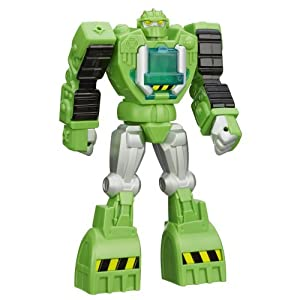 Playskool Transformers Rescue Bots Boulder the Construction-Bot Figure, 12-Inch