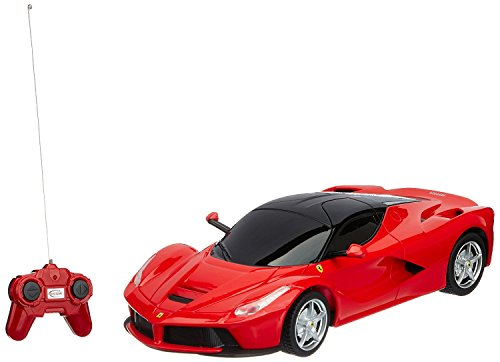 Toy House Toyhouse Officially Licensed Ferrari LaFerrari 1:24 Scale Model Car, Red