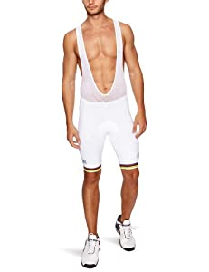 Nalini Bianchi World Champion Men's Bib Shorts - White, XXX Large