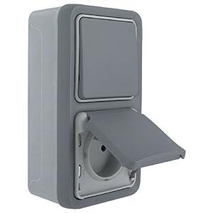 legrand leg69914 interrupteur prise de courant avec. Black Bedroom Furniture Sets. Home Design Ideas