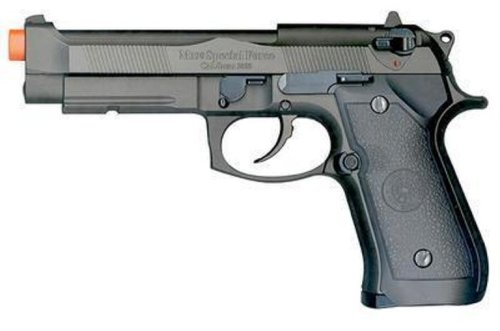 TSD Tactical Full Metal/Semi-Auto M9 Gas Blowback Airsoft Pistol