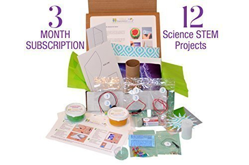STEM Discovery Boxes - 3 MONTH SUBSCRIPTION - 12 PROJECTS!