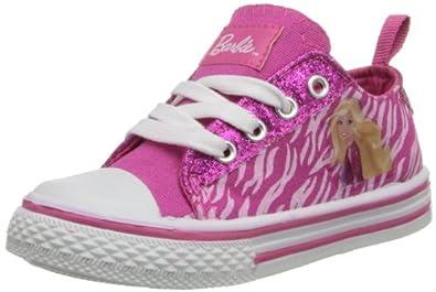 Amazon.com: Mattel Barbie BBS701 Sneaker (Toddler/Little Kid), Pink, 7 M US Toddler: Fashion