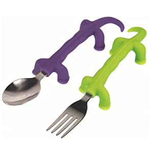 Fred Dinnersaurs Fork and Spoon Set