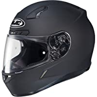 HJC Solid Men's CL-17 Full Face Motorcycle Helmet - Matte Black / Large by HJC
