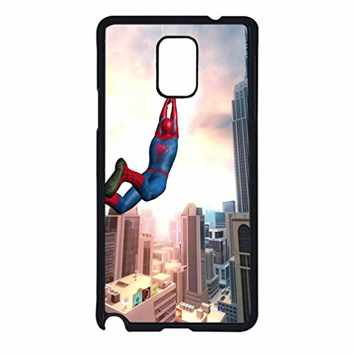 Amazing Spider Man 2 Case / Color Black Plastic / Device Samsung Galaxy Note 4